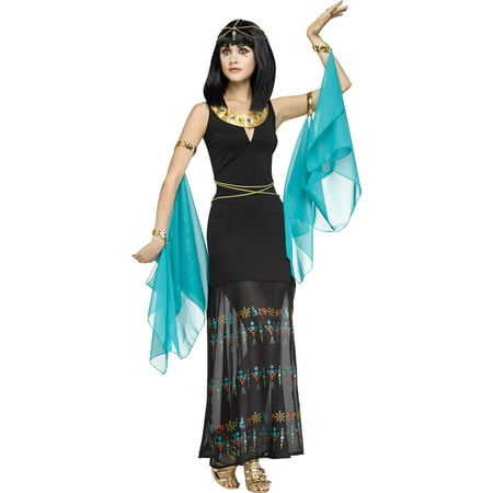 Egyptian Queen Women's Adult Halloween Costume](Diy Egyptian Costume)