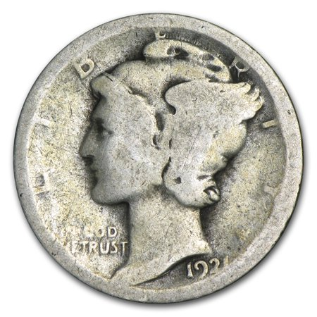 America Mercury Dime (1921 Mercury Dime AG )