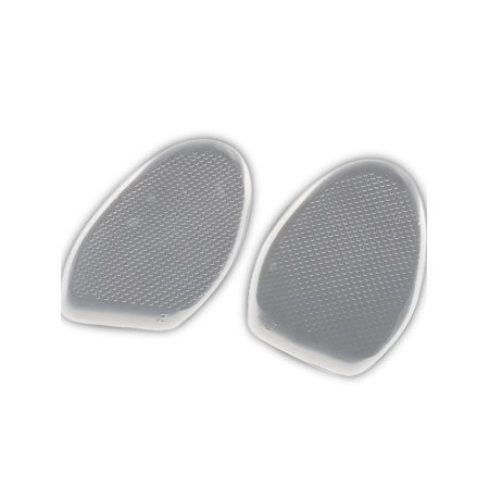 Shoes Walking Silicone Gel Insert Half Sole Cushions Pad Insoles Clear - image 2 of 3