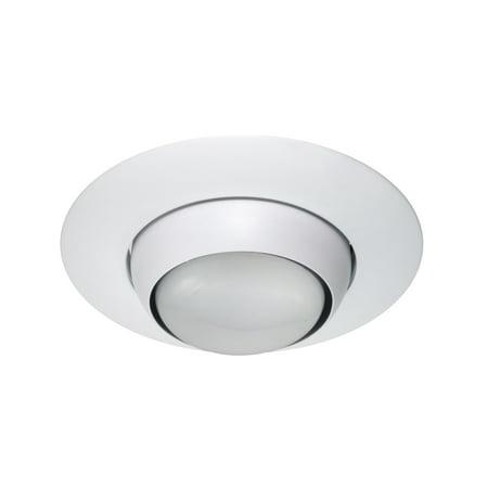 Nicor Lighting 6 Inch Eyeball Trim White 17506wh
