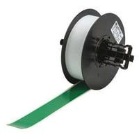 BRADY 113206 Label Tape Cartridge,Green,1.125 In. W