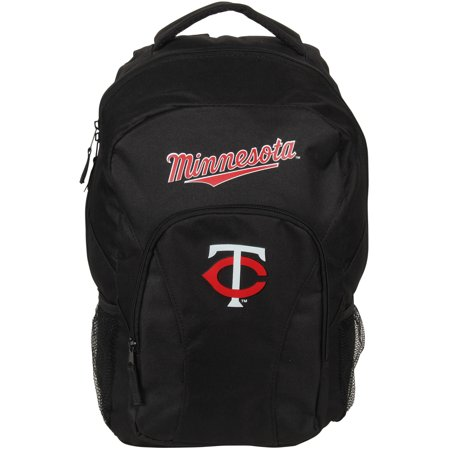 Minnesota Twins The Northwest Company Draft Day Backpack - Black - No Size ()