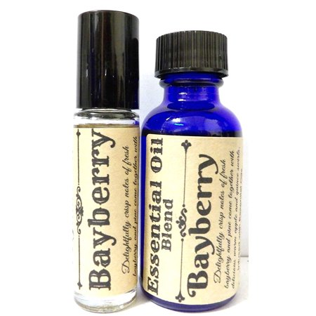 COMBO - Bayberry 29.5 Ml Bottle of Skin Safe Fragrance / Perfume Oil and 10 Ml Bottle of Roll-On Perfume Oil ()