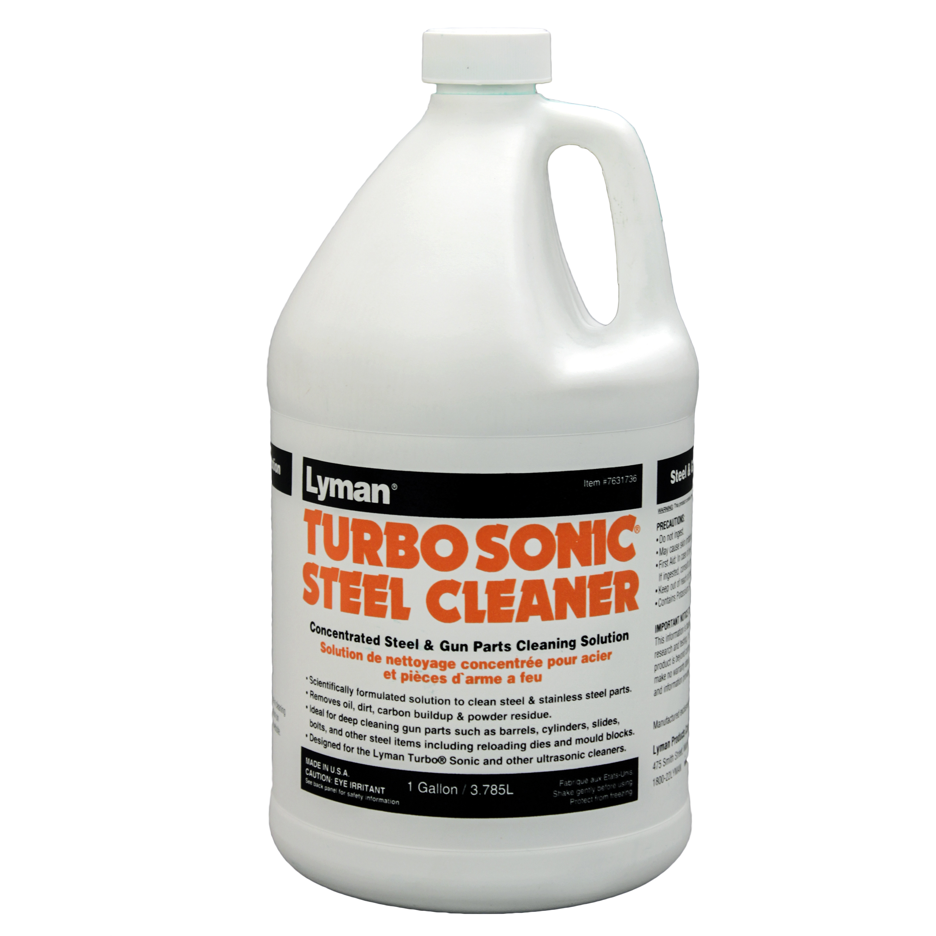 Lyman TurboSonic Gun Parts Cleaning Concentrate (1 Gal) by Lyman