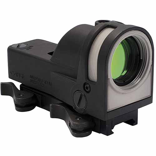 Mako MEPROM21B Self Powered Reflex Sight with Dust Cover Bullseye