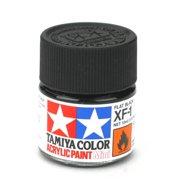 Tamiya America, Inc Acrylic Mini XF1, Flat Black, TAM81701