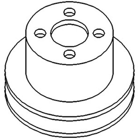 1750300M1 Water Pump Pulley For Massey Ferguson Tractor