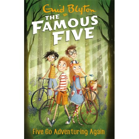 Famous Groups Of Five People (FAMOUS FIVE FIVE GO ADVENTURNG)
