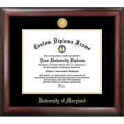 University of Maryland Gold Embossed Diploma Frame