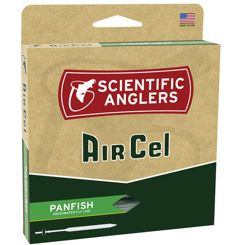 Scientific Anglers AirCel Floating Panfish Fly Line, 5/6, Orange