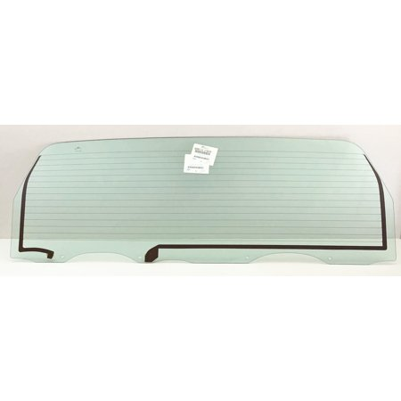 For 1988-1996 Ford Bronco Heated Power Drop Down Back Window Tailgate Glass Replacement OEM (Down Tailgate)