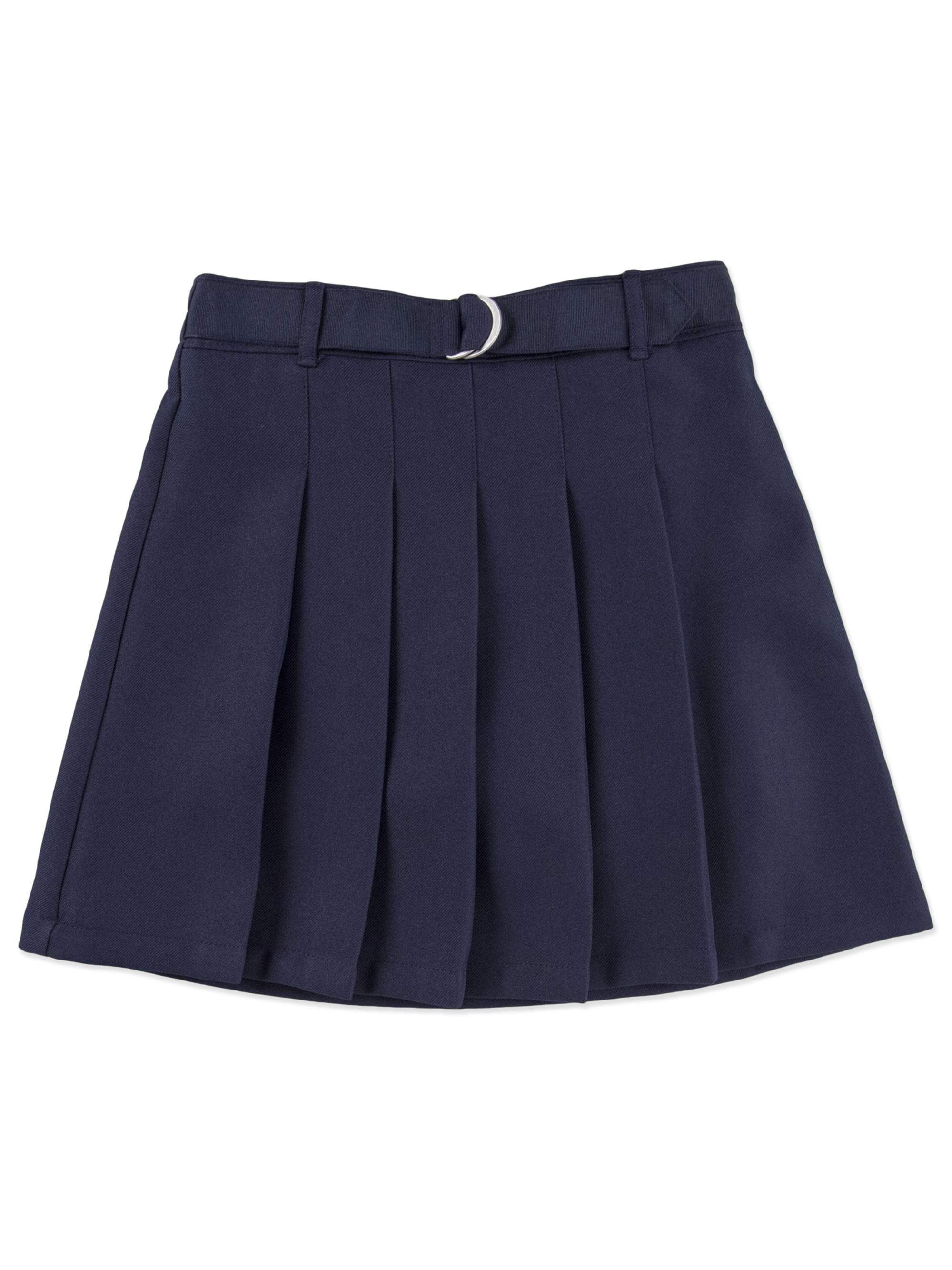 Girls' School Uniforms, Belted Pleated Scooter