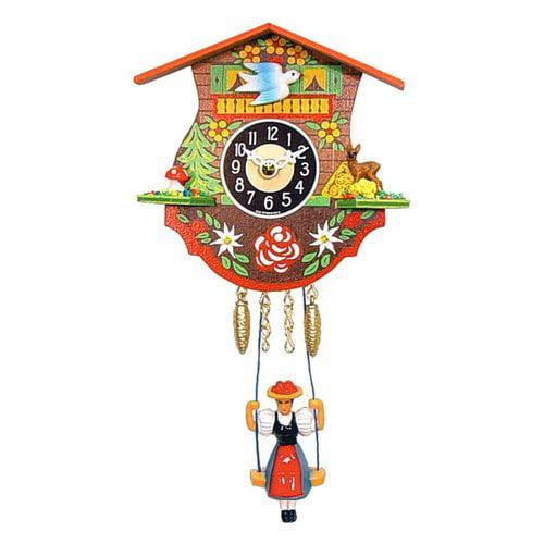 Alexander Taron 0110SQ Chime Quartz Cuckoo Wall Clock
