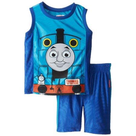 3t Short - Thomas Little Boys' 2 Piece Dazzle Short Set, Blue, 3T