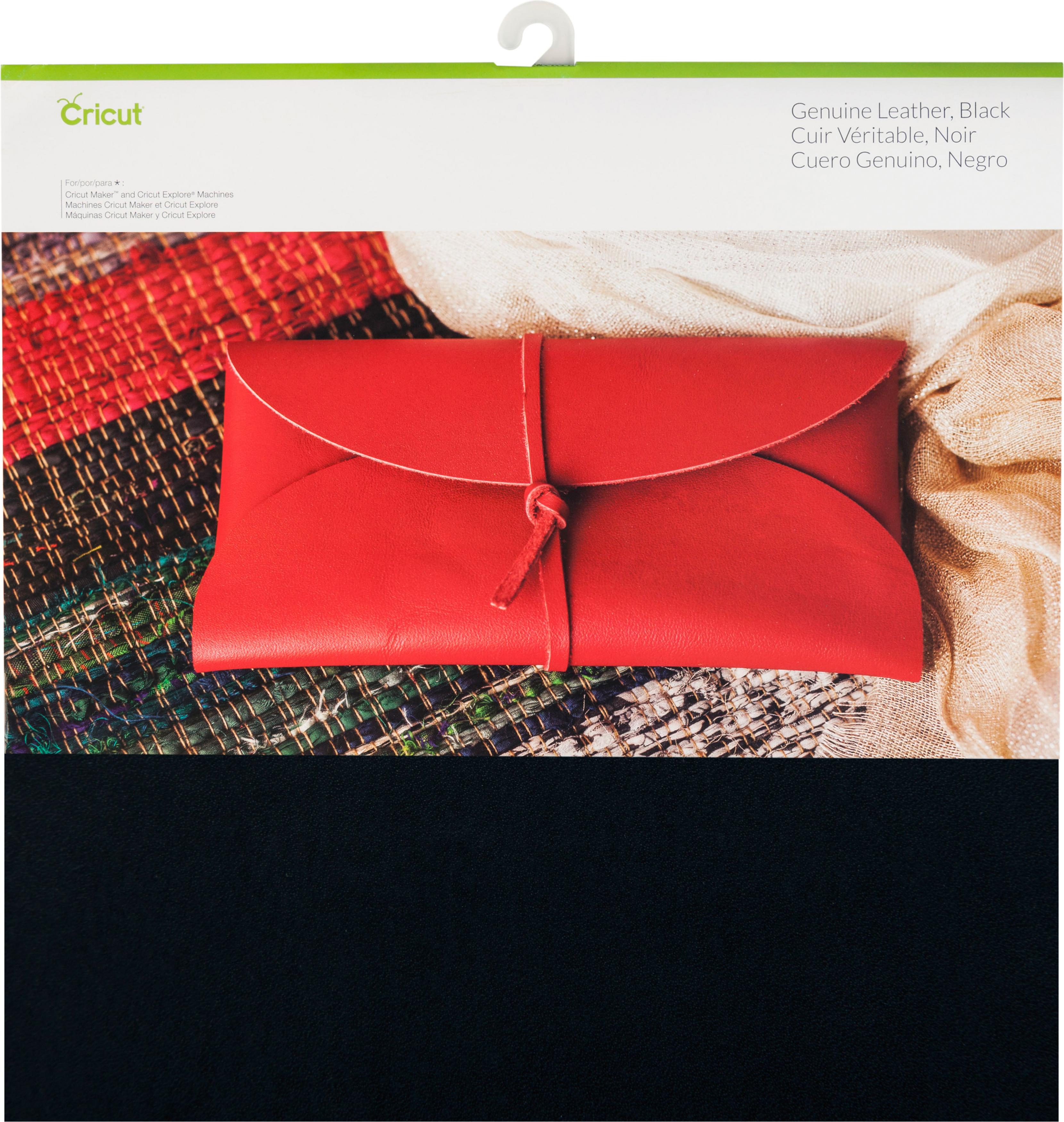 "Cricut Maker Genuine Leather 12""X12""-Black"