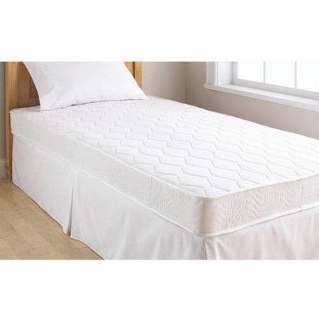 "Mainstays 6"" Coil Mattress Set with Signature Sleep 8.5"" Premium Bed Frame, Multiple Sizes"