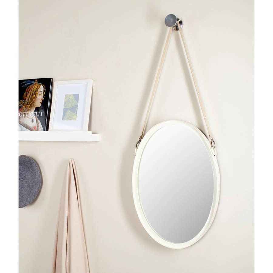 Safavieh Raleigh Strap Mirror, Ivory