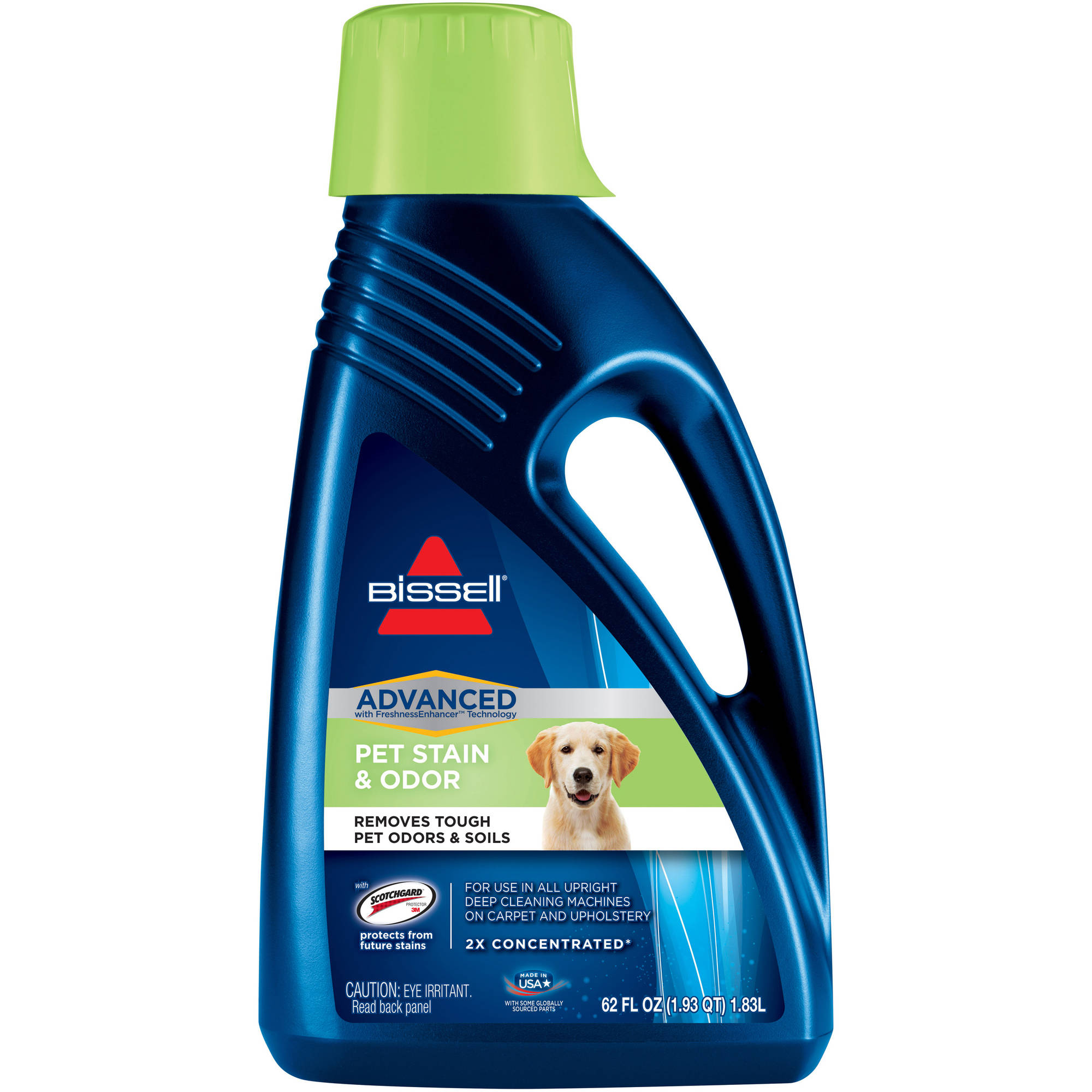 BISSELL 2X Pet Stain and Odor Full Size Carpet Cleaning Formula, 60 oz, 99K52