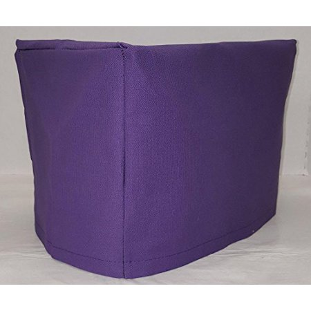 Toaster Cover Patterns - Canvas Toaster Cover (15 Colors Available) (2-Slice, Purple)
