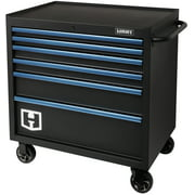 Hart 36-In Wide x 24-In 6-Drawer Rolling Tool Cabinet, HART36TR6XD
