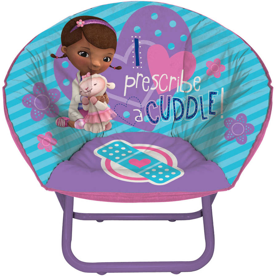 doc mcstuffins mini saucer chair - walmart