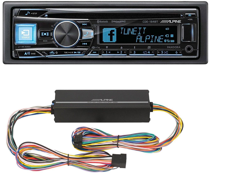 Alpine CDE-W265BT Advanced Bluetooth CD Receiver Automotive Car ...