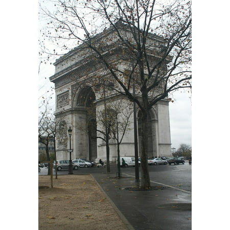 Laminated Poster Landmark Sightseeing French Paris Europe Famous Poster Print 11 x