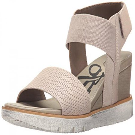 Otbt Womens Cosmo Wedge Sandal  Stone  7 5 M Us