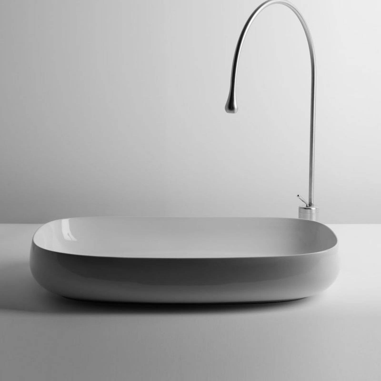 WS Bath Collections Seed 90.42 Vessel Bathroom Sink