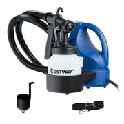Costway 600W Electric HVLP Paint Sprayer Handheld 3-way Spray Gun w/Detachable Container