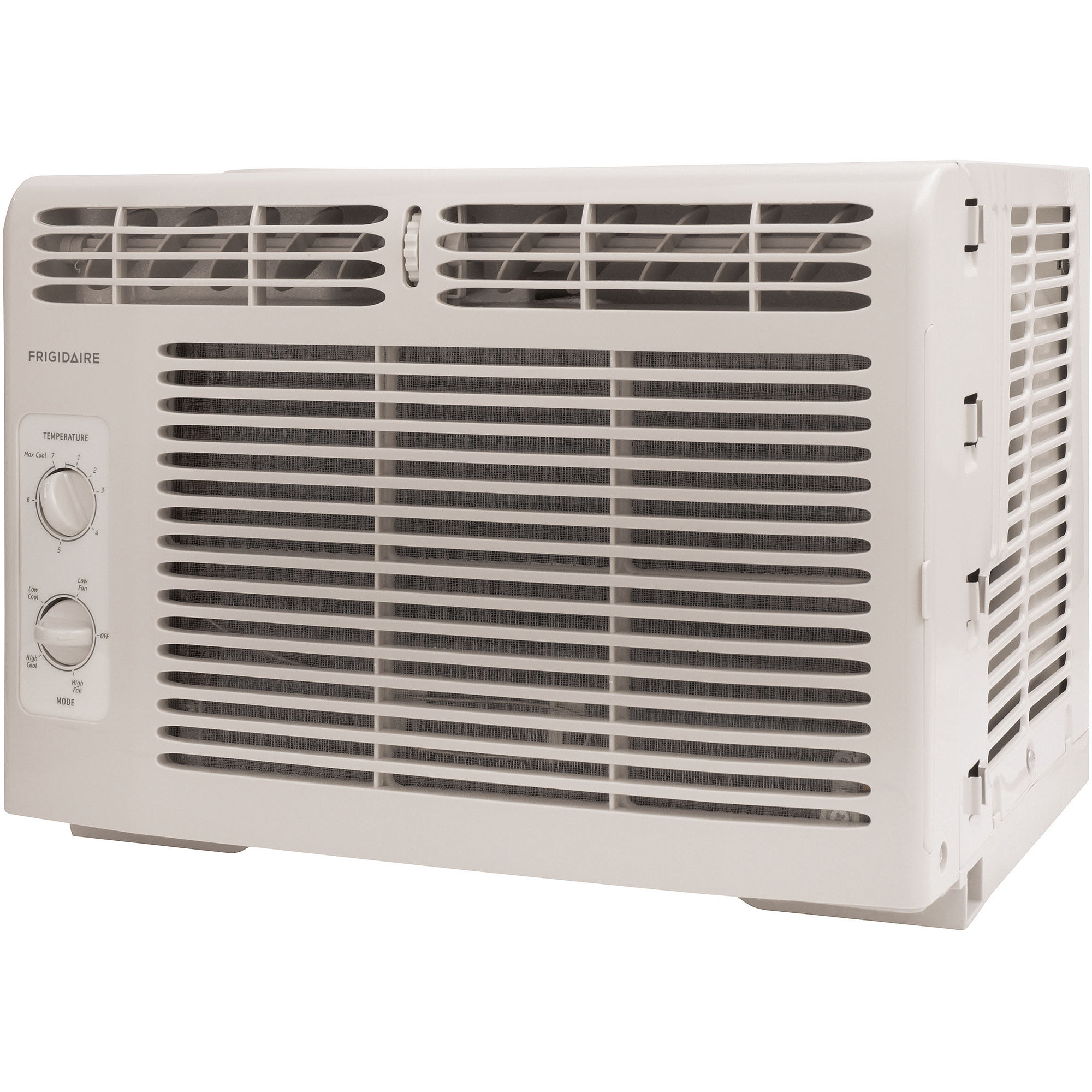 Frigidaire FRA082AT7 8,000-BTU 115V Window-Mounted Compact Air Conditioner with Mechanical Controls