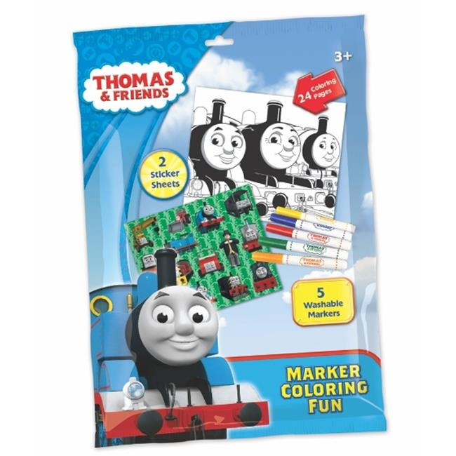 Thomas 502-TT Foil Marker Coloring Fun Pack, Pack of 12