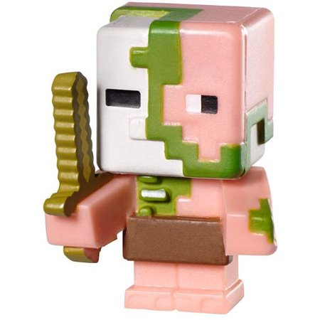 Minecraft Stone Series 2 Zombie Pigman 1 Mini Figure Loose