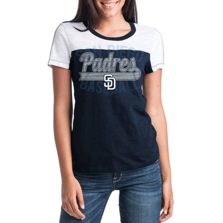 Halloween Parades In San Diego (MLB San Diego Padres Women's Short Sleeve Team Color Graphic)