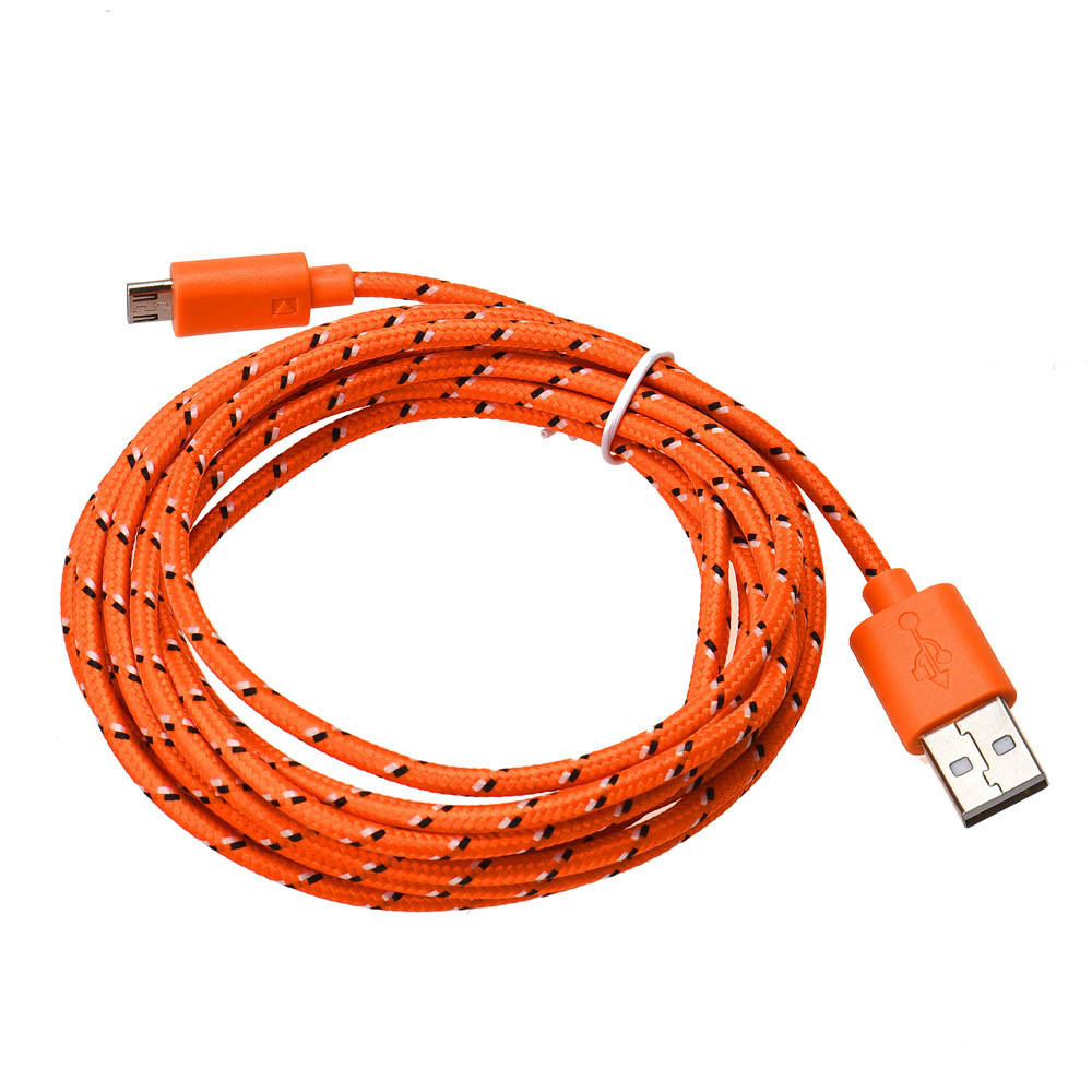DZT1968 1M Micro USB Charger Sync Data Cable Cord for Cell Phone