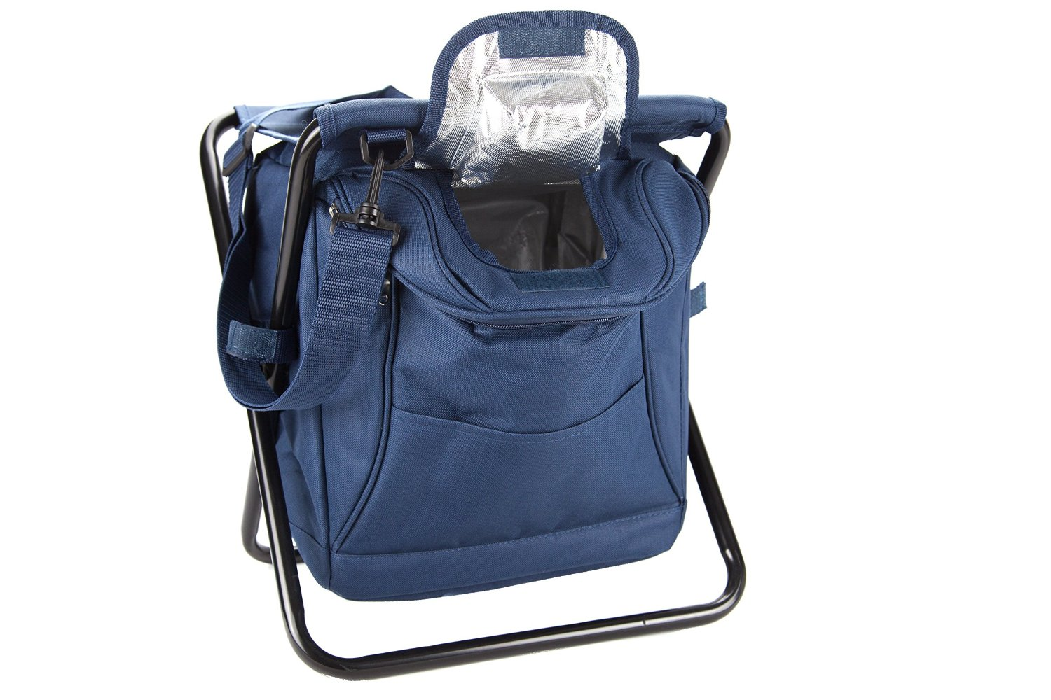 Backpack cooler chair - 3 In 1 Backpack Cooler Chair Insulated Cooler Stool Collapsible Walmart Com