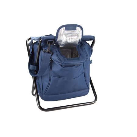 3 in 1 backpack cooler chair insulated cooler stool collapsible - Backpack chairs walmart ...