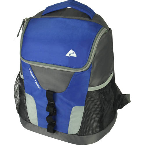 Ozark Trail 12 Can Insulated Backpack Cooler Blue Ebay