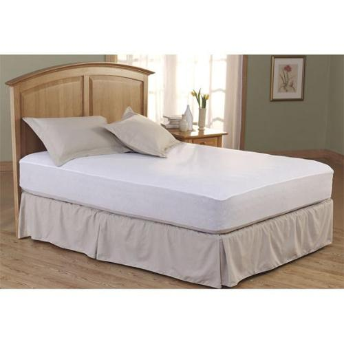 Total Protection Waterproof Mattress Pad Full
