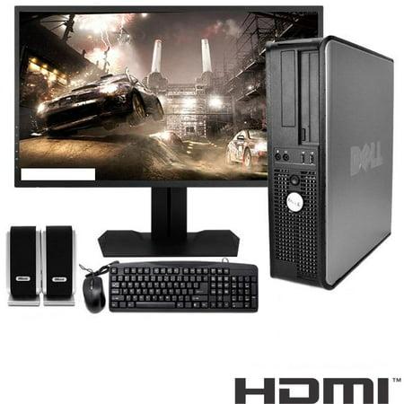 Dell Optiplex Desktop Computer 3.0 GHz Core 2 Duo Tower PC, 8GB RAM, 1 TB HDD, Windows 7, HDMI, 24