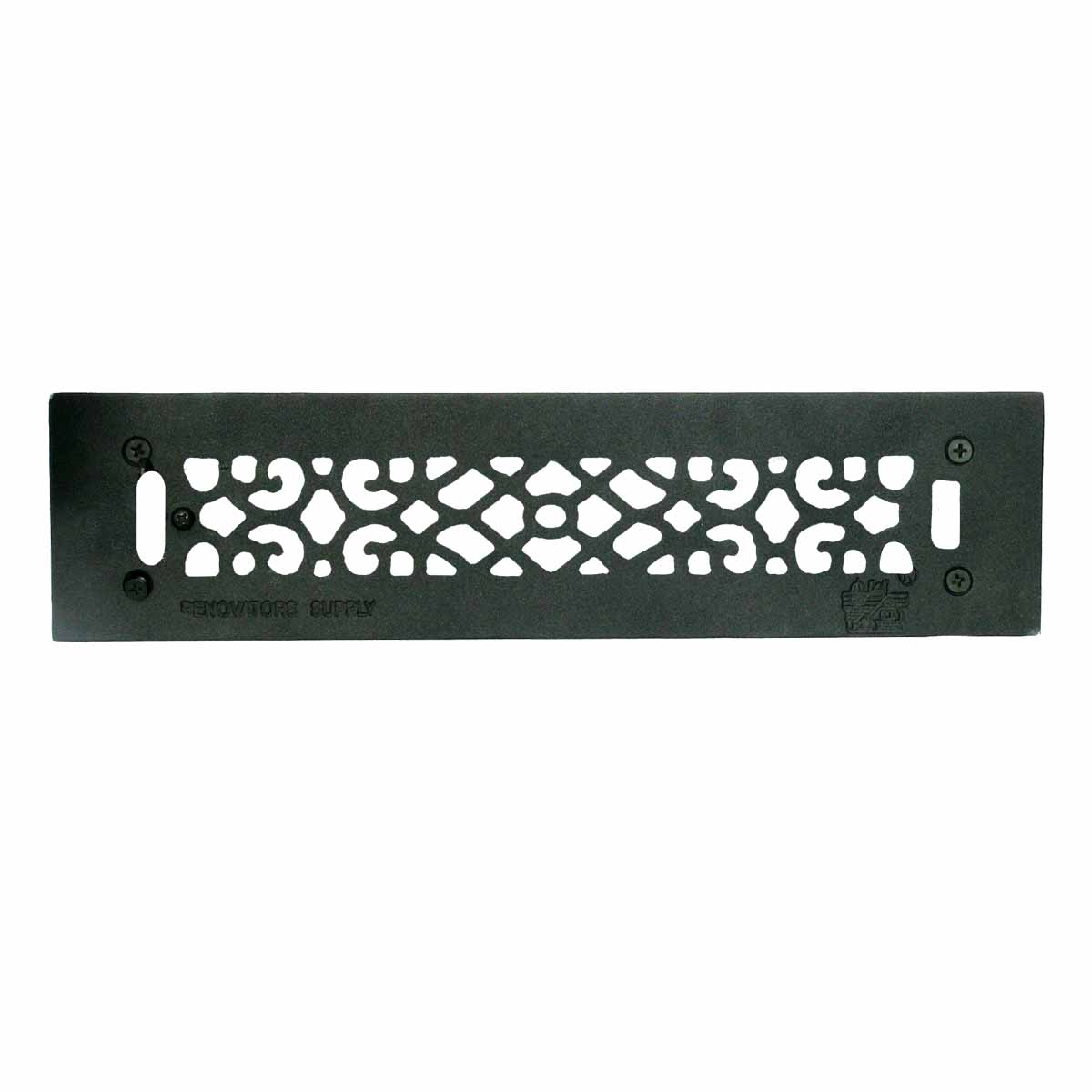 Floor Heat Register Louver Vent Cast 2 1/4 x 14 Duct | Renovator's Supply