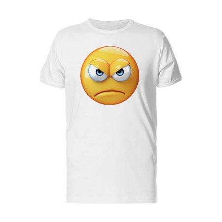Teeblox Cool Angry Emoji Tee Mens Image By Shutterstock
