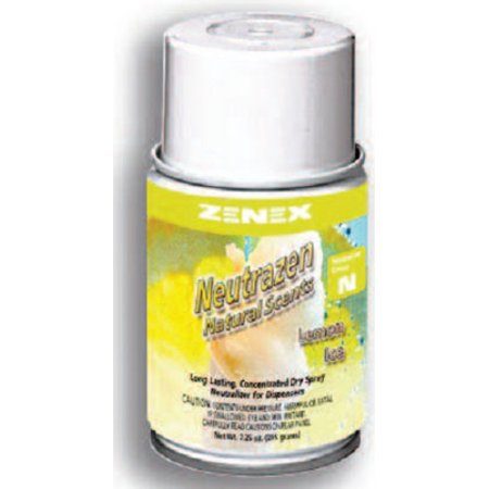 Zenex Neutrazen Lemon Ice Scent Metered Odor Neutralizer - 12 Cans (Case) Scent Metered Odor Neutralizer