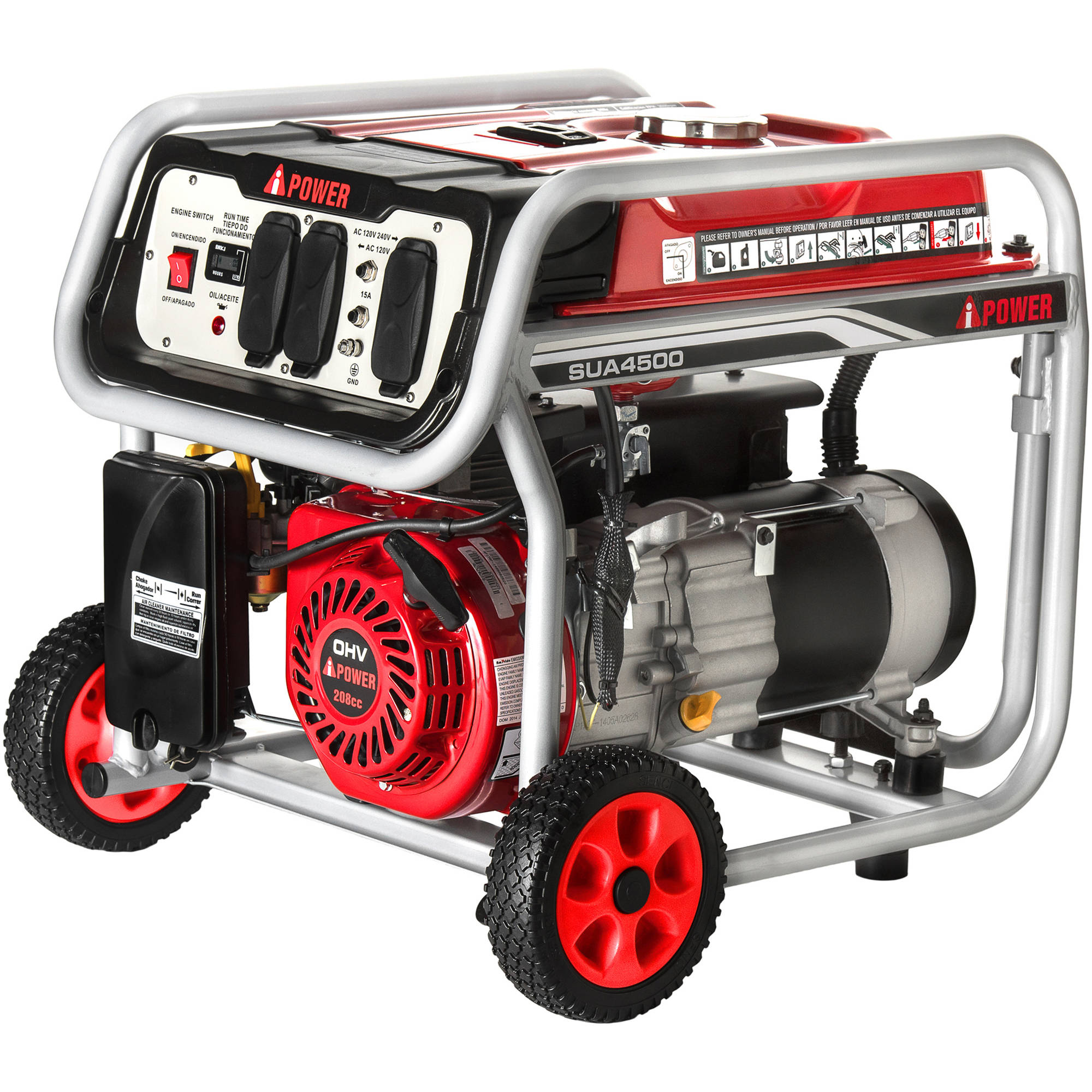 A-iPower 4500W Gasoline Powered Generator by