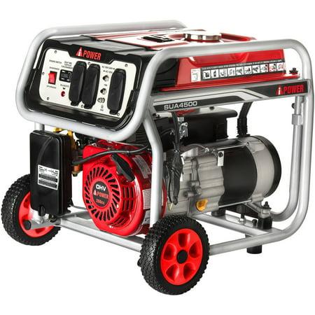 Hand Crank Power Generator - A-iPower 4500W Gasoline Powered Generator