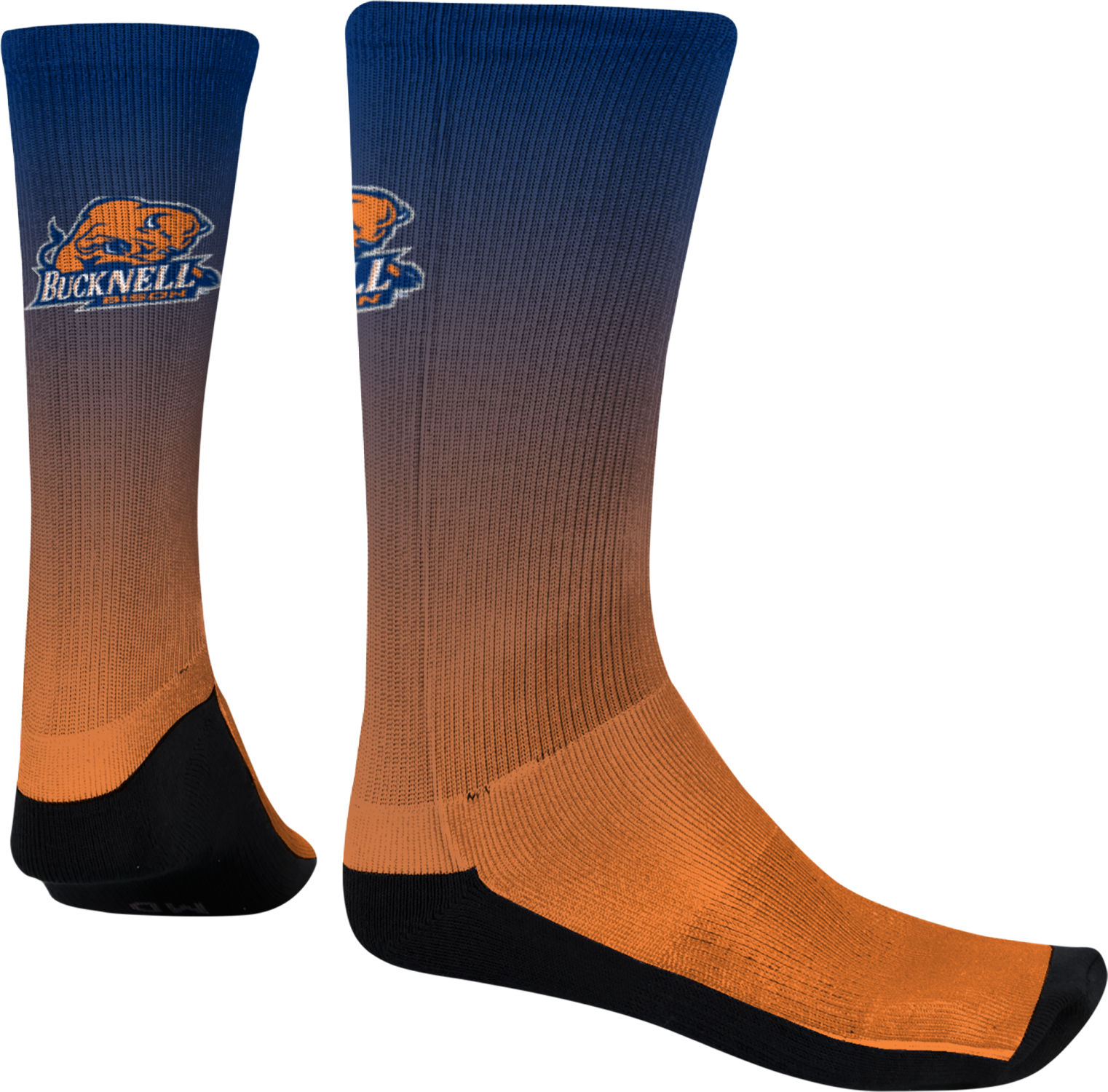 Spectrum Sublimation Men's Bucknell University Fade Sublimated Socks