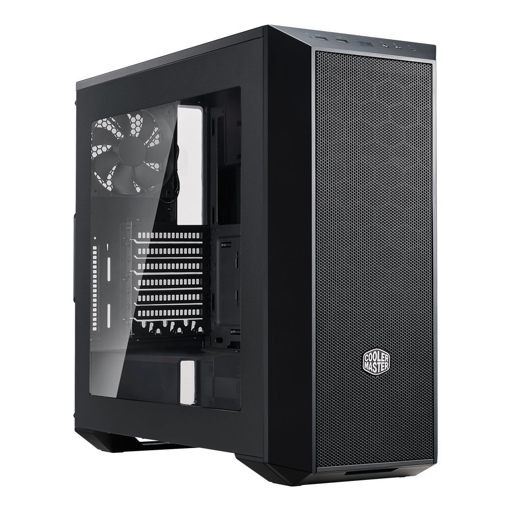 MasterBox 5 Mid-tower Computer Case with Internal Configuration ATX, Micro ATX, Mini ITX Supported Black... by Cooler Master
