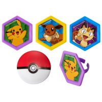 SPECIAL ORDER CUPCAKES - RINGS-POKEMON-I CHOOSE YOU