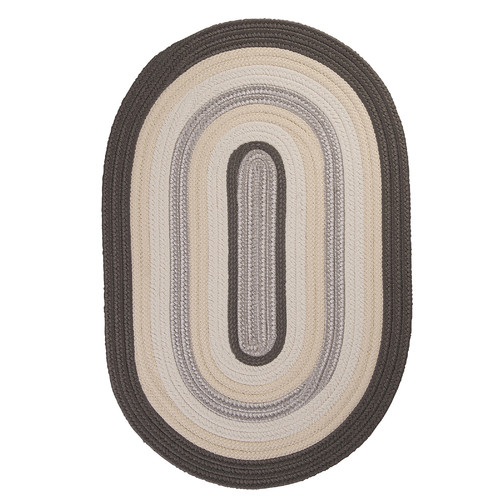 Colonial Mills Brooklyn Slate Braided Indoor/Outdoor Area Rug