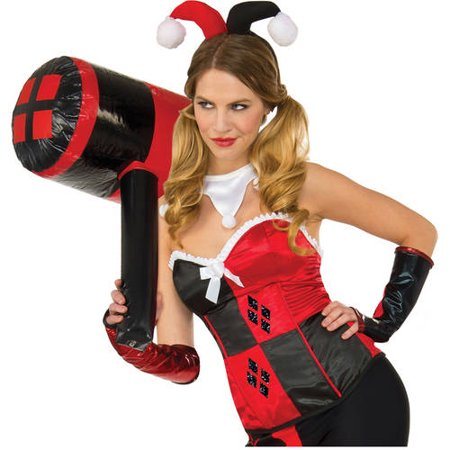 Harley Quinn Inflatable Mallet Halloween Costume Accessory